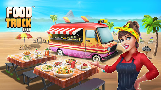 Code Triche Food Truck Chef™  🍳Cooking Game 🔥Jeu de Cuisine APK MOD (Astuce) screenshots 1