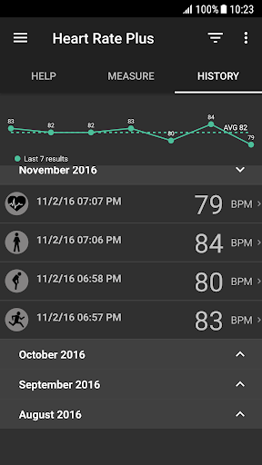 Heart Rate Plus - Pulse & Heart Rate Monitor 2.5.6 screenshots 3