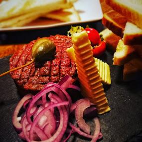 Beef tatar 😍 by Baks Berbl - Food & Drink Eating