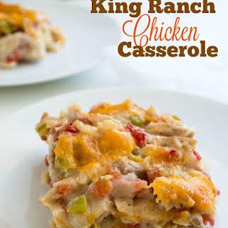 King Ranch Chicken Casserole.