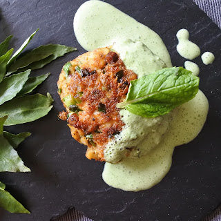 Indian Spiced Fish Cakes Recipe