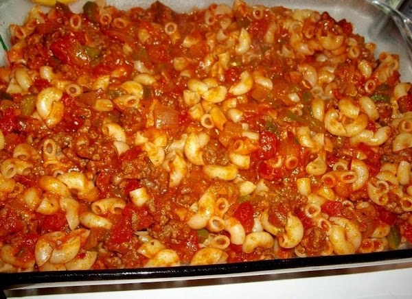 Pour mixture evenly into prepared dish.