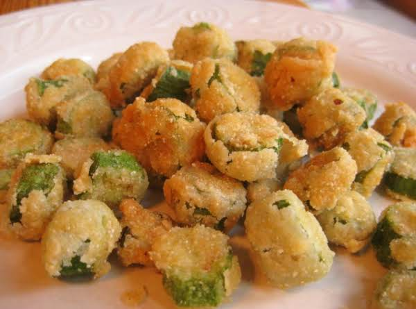 Granny's Fried Okra Recipe