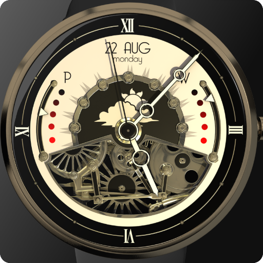 Steampunk - Animated Watch Face Latest version Apk Download