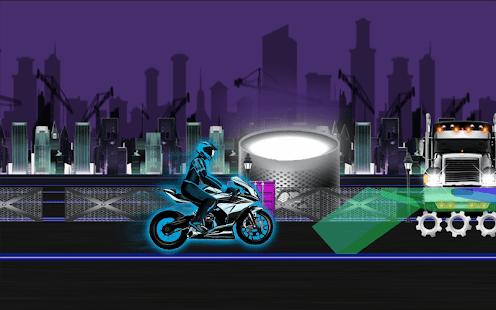 Neon City Bike Race - náhled