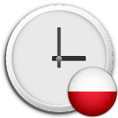 Poland Clock & RSS Widget