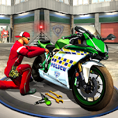 Police Moto Mechanic Workshop