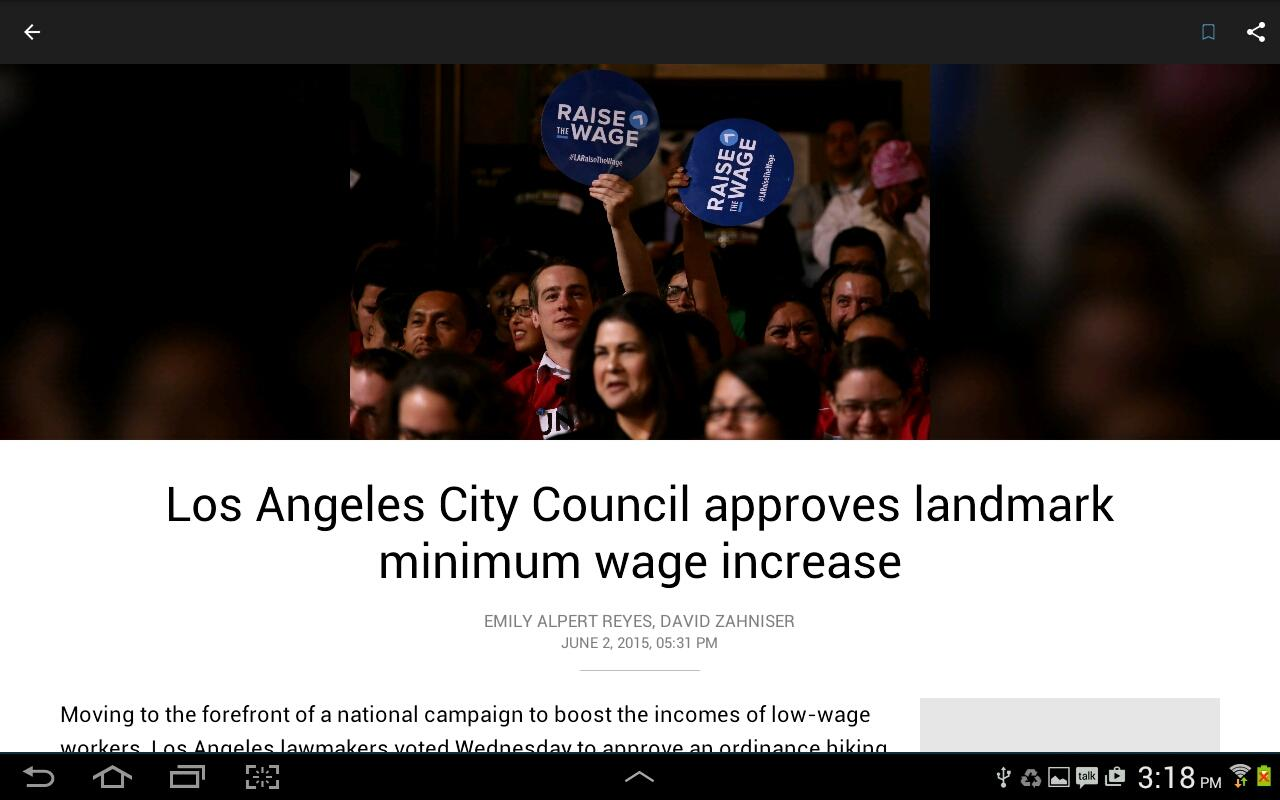 LA Times: Your California News- screenshot