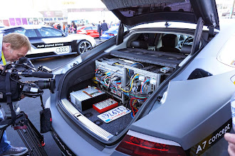 Photo: The computers in Jack, the Audi that drove from Silicon Valley to CES