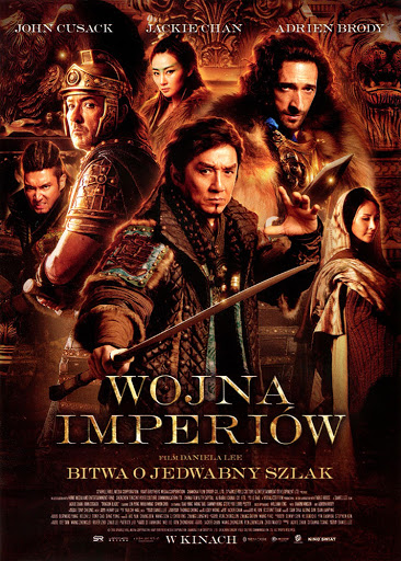 Przód ulotki filmu 'Wojna Imperiów'
