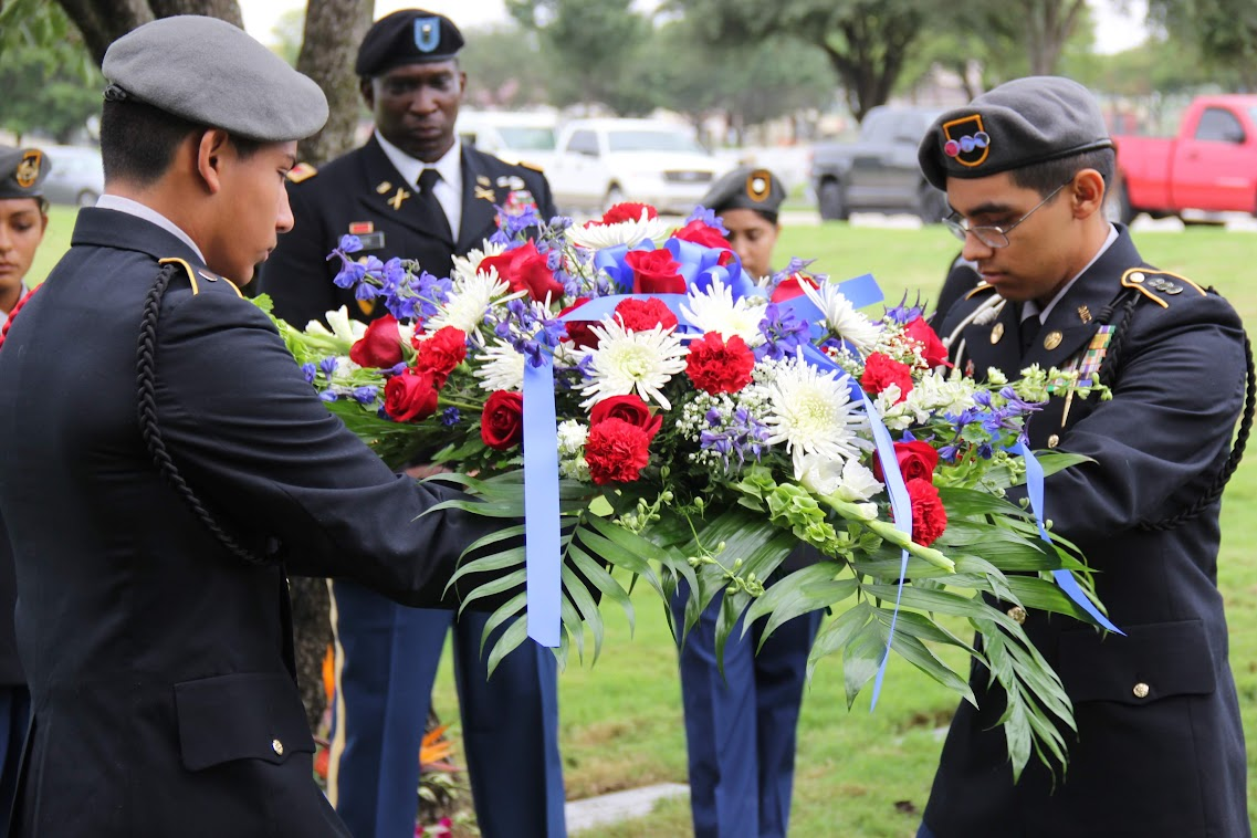 Karen Wagner 9/11 Ceremony – Ft. Sam Houston