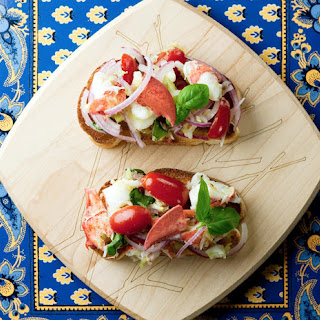 Lobster Bruschetta.