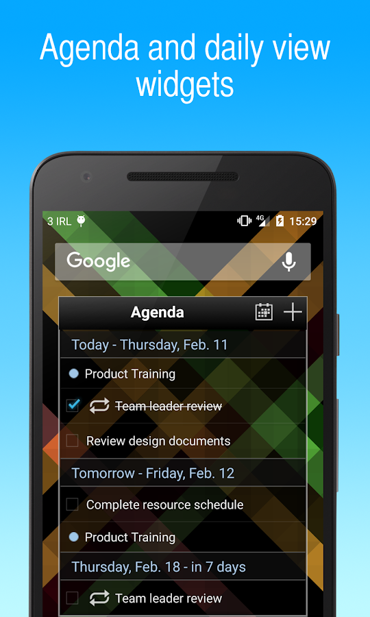 To-Do List for Google Tasks- screenshot