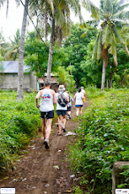 Photo: The runners are on trail