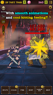 Monster Hunter Clicker : RPG Idle game Mod Apk Download For Android and Iphone 3