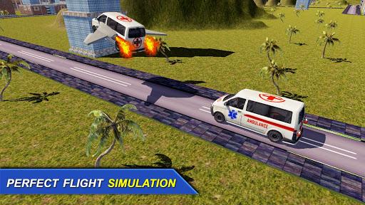 未来 飛行 救急車