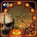 Halloween Horror Clock Live Wallpaper icon