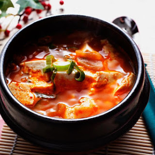 Spicy Korean Soft Tofu Stew (Soondubuchigae).