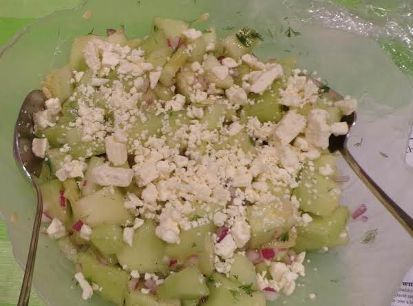 Cucumber-honedew Salad With Feta Recipe