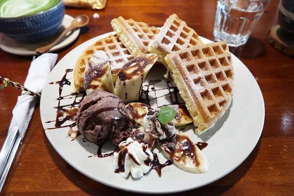 南島夢遊-下午茶咖啡鬆餅篇