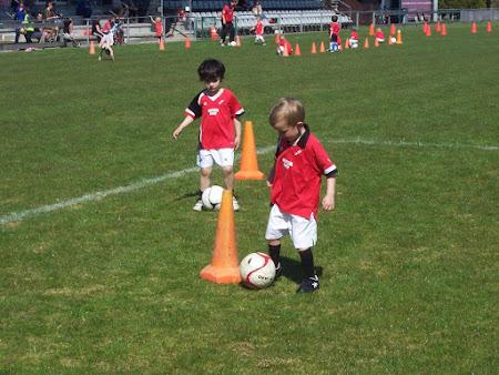 De voetbalspeeltuin