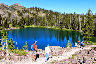 Photo: A lake with no name