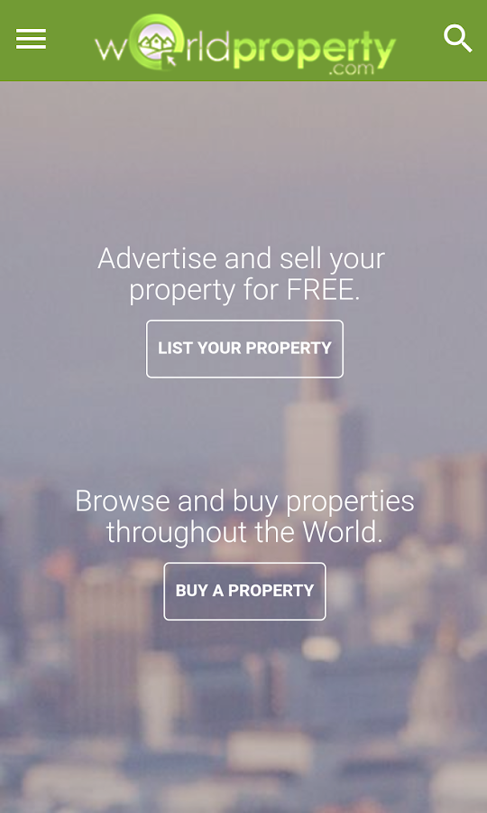 World Property- screenshot