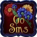 GO SMS PRO THEME VELOUR FLORAL icon