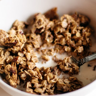 My Favorite Chunky Granola With Pecans And Flax