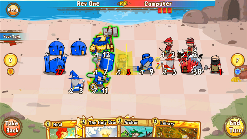 android Cards and Castles Screenshot 11