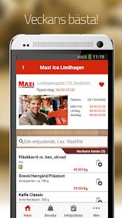 Matpriskollen- screenshot thumbnail