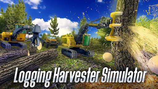 Logging Harvester Truck 1.4 screenshots 9