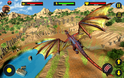 Flying Dragon City Attack 1.0.8 screenshots 15
