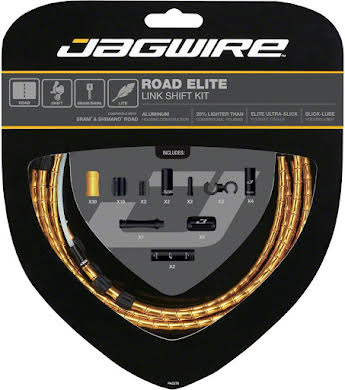 Jagwire Road Elite Link Shift Cable Kit with Ultra-Slick Uncoated Cables alternate image 6