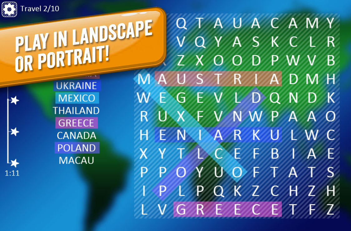 Perfect Word Search- screenshot