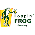 Logo of Hoppin' Frog Frosted Frog Christmas Ale (Butter Rum) Beershake
