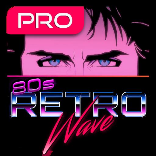 Retrowave Wallpapers PRO Live WallsGIFs amp Radio