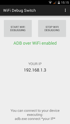 WiFi ADB Switch