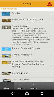 Sika Product Finder- screenshot thumbnail