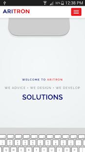 Aritron WebView - náhled