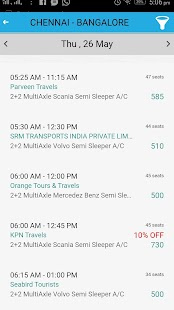 Busslip Online Ticket Booking screenshot