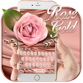 Rose Gold Emoji Keyboard