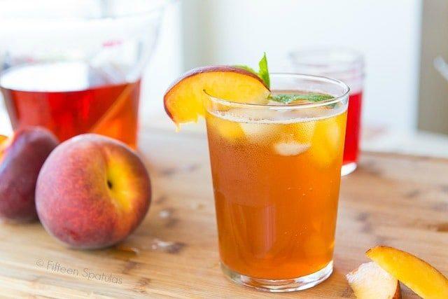 Logo for Peach Iced Tea