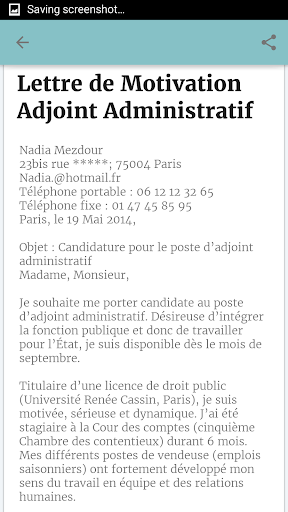 Download Demande D Emploi Exemple On Pc Mac With Appkiwi