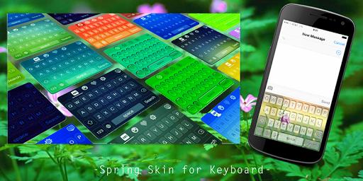 Spring Skin for Keyboard