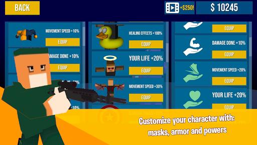 Pixel Battle Royale Games - Deathmatch FPS Shooter 1.9 screenshots 2