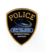 Photo: Newport News Williamsburg International Airport Police