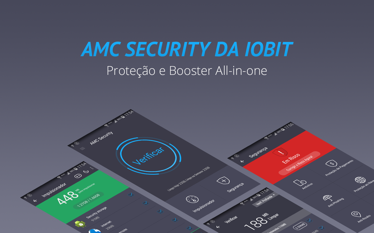 AMC Security - Antivirus Boost: captura de tela
