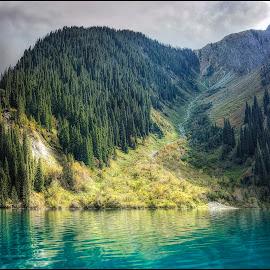 lake Sary-chelek by Jana Vondráčková - Uncategorized All Uncategorized