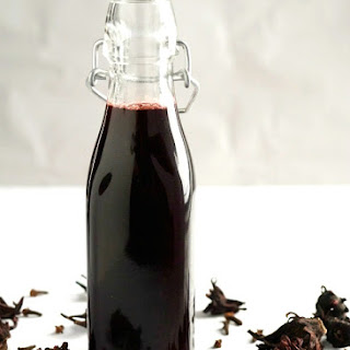 Sorrel {or} Hibiscus Simple Syrup